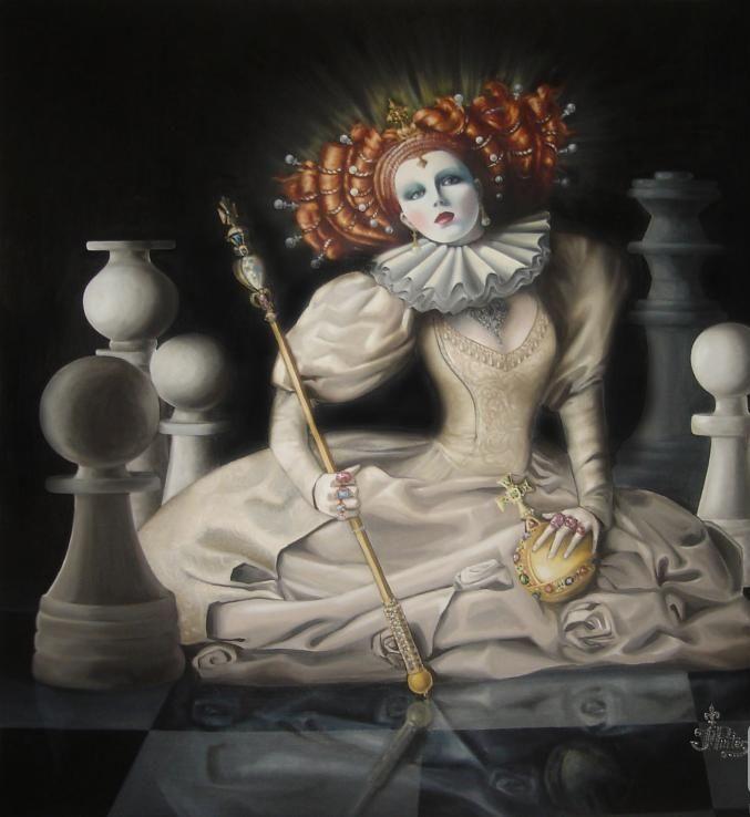 видом этого картинки шахматной королевы тебе